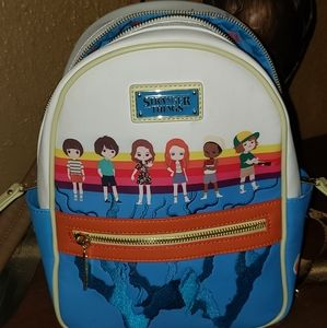 Other - Stranger Things Loungefly Chibi Mini Backpack
